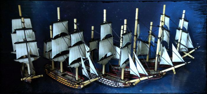 100-gun Ships of the Line by Spielorjh