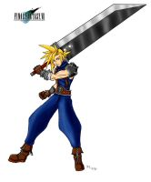 Cloud Strife PWNS by arvalis