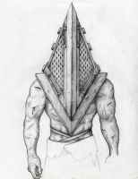 Pyramid Head by Murder-Ball