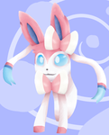 sylveon for me morty by Shaanjii