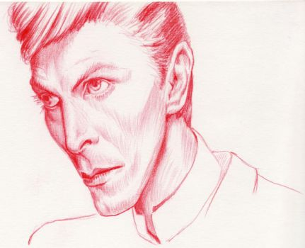 David Bowie  by yomark