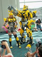 Two Bumblebees by OneRadicalDude
