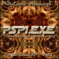 Gimp  Ps plugin support - PSPI by photocomix-resources