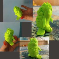 green monster fish by selectik
