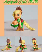 Gala Applejack MLP Custom Sculpt Blind Bag by alltheApples