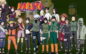 Naruto Anime by Lycantrope