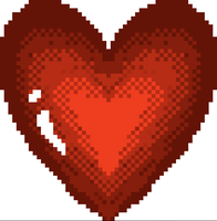 pixel heART by LajaDora