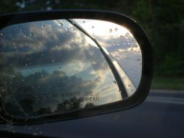 rearview mirror by MeganA0001
