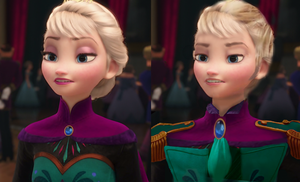 My Attempt At Brozen Elsa by IAmZBEST