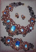 soutache set by zeleck