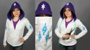 Rarity Hoodie by SewDesuNe