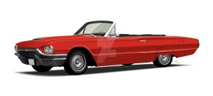 '64 Ford Thunderbird, Red by CRWPitman