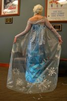 Frozen Elsa Cosplay Back by Silver-Fyre