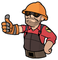 Red Vault-Boy Engi by DrinkerTH