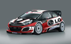 Kia Rio WRC by agespoom