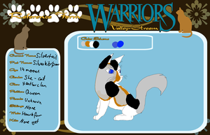 Silvertail Ref sheet for WVS by ezziethenekolover