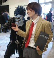 DN cosplay - L,do you know... by Shu-Maat
