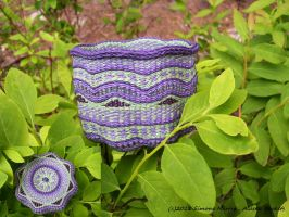 Alaska Violet Blueberry Basket by alaskabaskets