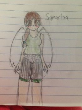 HERE HAVE AN OLD KID ICARUS OC THAT I REDESIGNED by Iazily