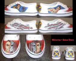 Wolverine and Daken Shoes by Demyrie