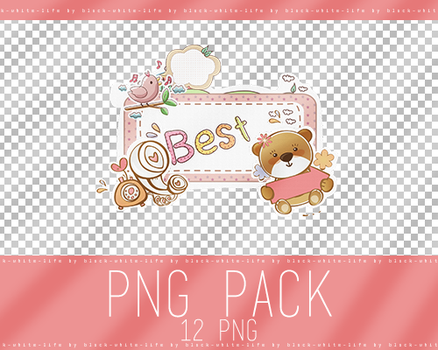 PNG pack by black-white-life (41) by ByEny
