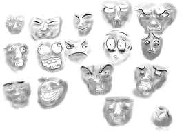 Faces by Valenmere