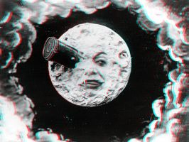 A Trip to the Moon 3-D conversion by MVRamsey
