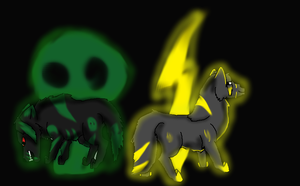 Lighting and poison by wolfmad123