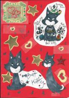 Bat Kitty for Dad by Kittychan2005