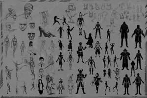 Silhouettes Concepting by Leo-Aba