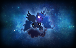 Luna on a Cloud by AeliosZero