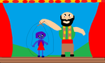Stromboli puppet show with raven by mewt66