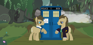 Doctor meets Doc by ParadoxalOrder