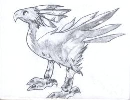 Chocobo From tactics by Kagar