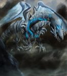 Blue Eyes Movie Dragon by Bloo-DKai12