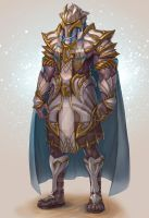Acient Egypt Warrior Lv3 Concept art by Hellcherr