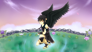 Dark Pit - Dark Winged Angel of Freedom by Reyna-Mirai