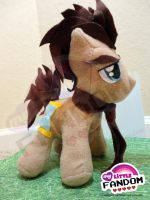 Doctor Whooves Plushie by tonksiford
