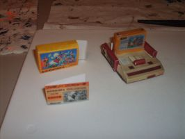 Famicom papercraft by AUSTINMEADOWS