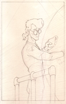 Egon Takes A Reading by tsilvers