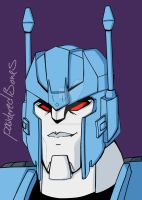 Transformers Animated Overlord by PowderedBones
