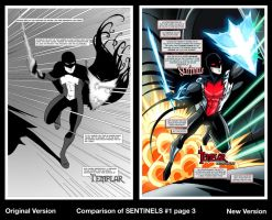 Sentinels Revision - Issue 1 page 3 by LucianoVecchio