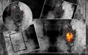 Fire Mirror cd Cover by black-art