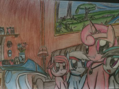 MLP: Be with there mother by Paladin360