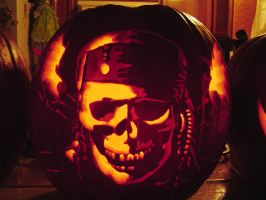 Jack Sparrow Skull by Falconari