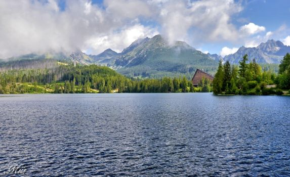Mountain lake - Strbske Pleso by miirex