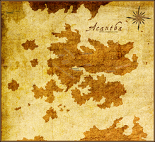 Map of Acantha by Freesong