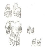 Bronze Platemail Armor by QuarianLifeline39