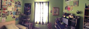 My Room: A Panorama - Pt. I by MegaBunneh