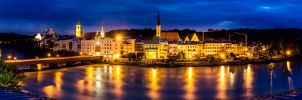 Panorama Wasserburg Night by Procsan